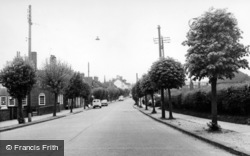 London Road c.1960, Burgess Hill