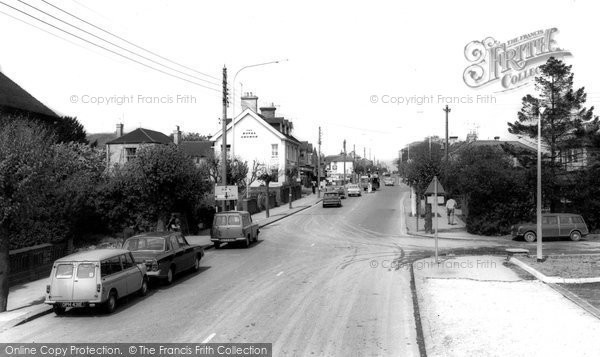 Burgess Hill, London Road c.1965