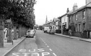Burgess Hill, Lower Church Road c.1960