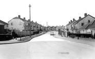 Burgess Hill, Noel Rise c.1965
