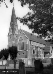Burgess Hill, Parish Church Of St John c.1965