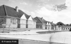 Burgess Hill, Potters Lane c.1955