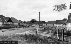 Burgess Hill, Ravenswood Road c.1955