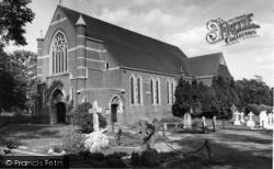 Burgess Hill, St Andrew's Church c.1960