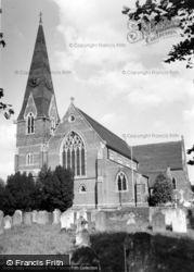 St John's Church c.1960, Burgess Hill