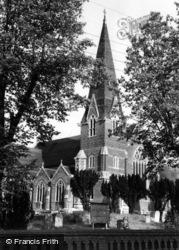 Burgess Hill, St John's Church c.1960