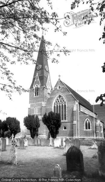 Burgess Hill, St John's Church c.1965