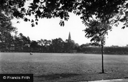 Burgess Hill, St John's Park c.1950