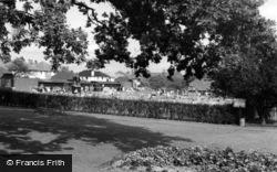 Burgess Hill, St John's Park Swimming Pool c.1960