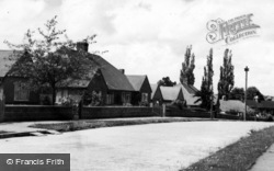 Burgess Hill, St Peter's Road c.1955