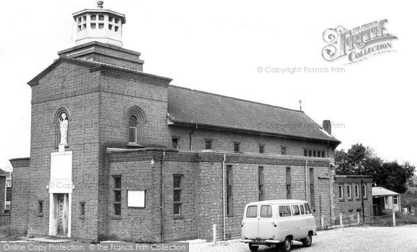 Burgess Hill, St Wilfred's Catholic Church c.1965