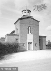 St Wilfrid's Roman Catholic Church c.1960, Burgess Hill