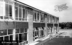 Burgess Hill, St Wilfrid's School c.1965