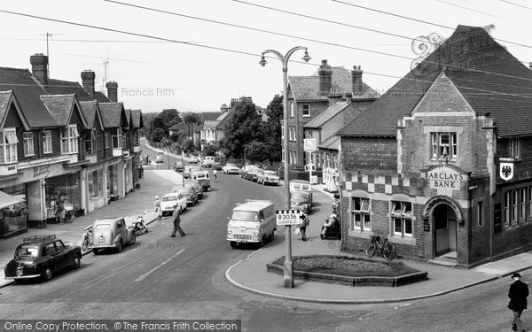 Photo of Burgess Hill, Station Road c1965, ref. B284102