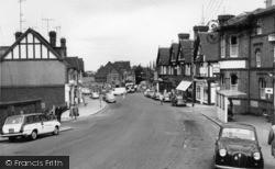 Burgess Hill, Station Road c.1965