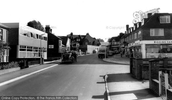 Burgess Hill, Station Road c.1965