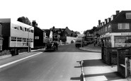 Burgess Hill, Station Road c1965