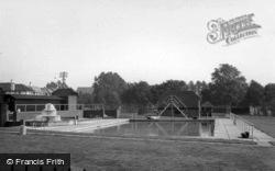 Swimming Pool c.1950, Burgess Hill