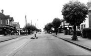 Burgess Hill, The Cross Roads c.1960