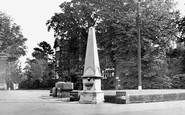 Burgess Hill, The Fountain c.1955
