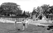 Burgess Hill, The Swimming Pool c.1960