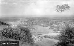View From Ditchling Beacon c.1965, Burgess Hill