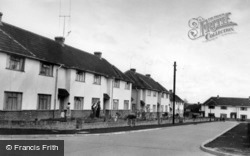 Woodleigh Road c.1955, Burgess Hill