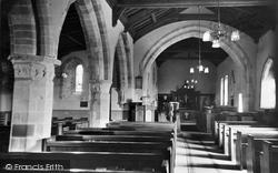 Burgh By Sands, Church Interior c.1932