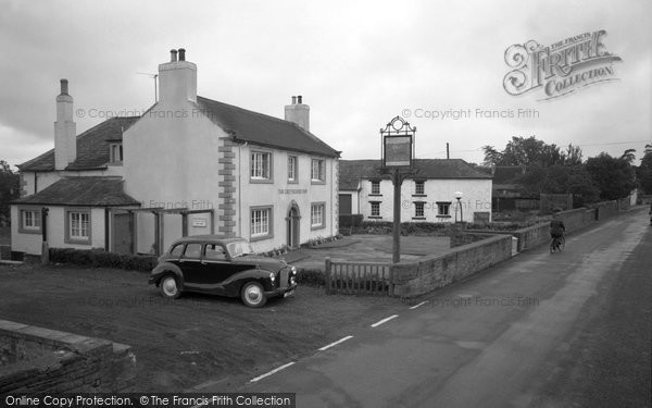 Photo of Burgh-By-Sands, Greyhound Inn c1955, ref. b709011