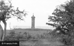 Burgh By Sands, King Edward Monument c.1932