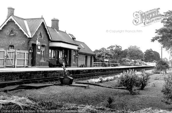 Photo of Burgh-By-Sands, the Station c1935, ref. b709004
