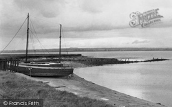Burgh By Sands, Towards Scotland Across The Solway Firth c.1950
