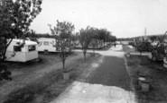 Burgh Castle, Cherry Farm Caravan Park 1968