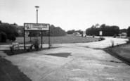 Burgh Castle, Cherry Farm Caravan Park, The Entrance 1968