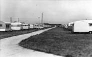 Burgh Castle, Cherry Farm Caravan Park, Top Field 1968