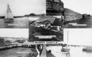Burgh Castle, Composite c.1965