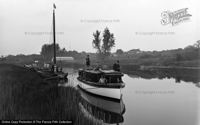 Photo of Burgh Castle, The River Waveney c.1931