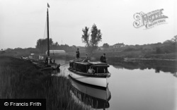 Burgh Castle, The River Waveney c.1931