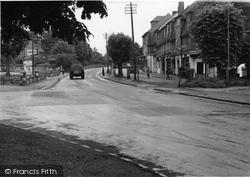 Brighton Road c.1955, Burgh Heath