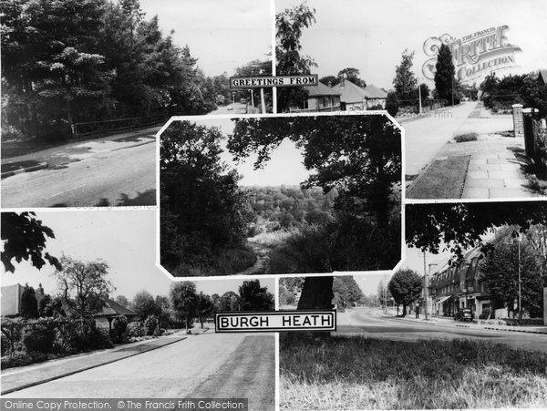 Burgh Heath, Composite c.1955