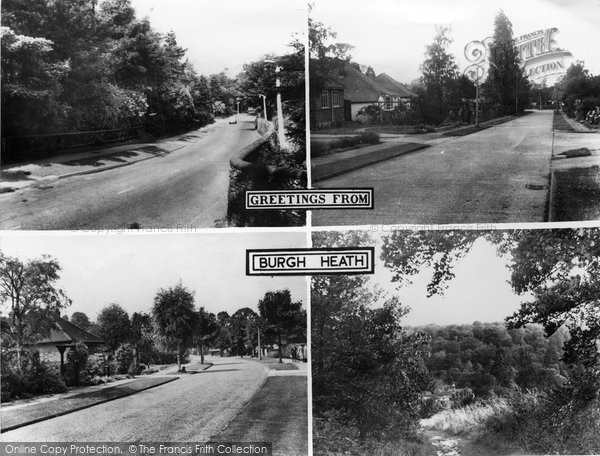 Burgh Heath, Composite c.1960