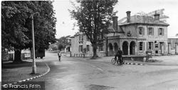 Galleon Corner c.1955, Burgh Heath