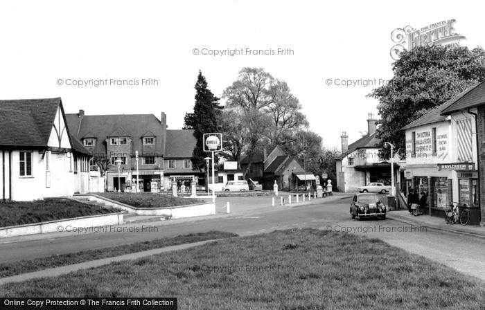 Burgh Heath, Reigate Road c.1960