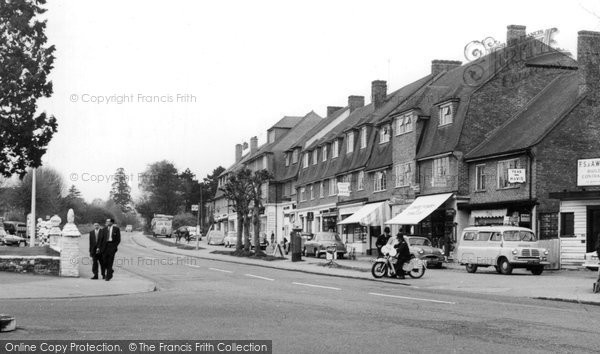 Burgh Heath, The Parade 1959