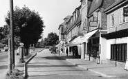 Burgh Heath, the Parade c1955