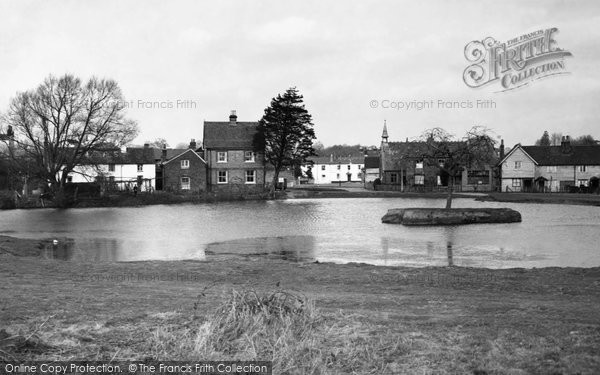 Photo of Burgh Heath, the Pond 1968