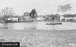 The Pond c.1955, Burgh Heath