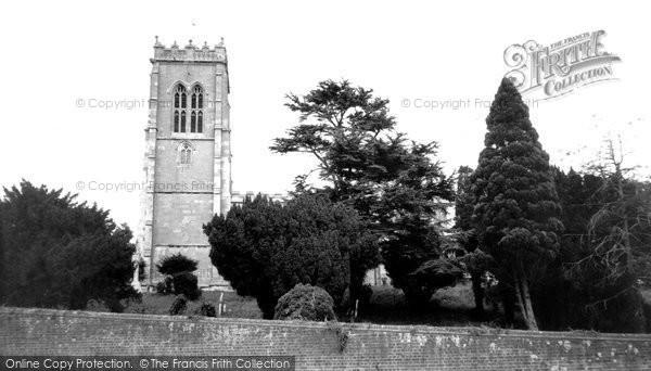 Burgh Le Marsh, St Peter And St Paul's  Church c.1965