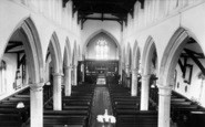Burgh Le Marsh, St Peter And St Paul's Church Interior c.1965