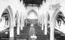Burgh Le Marsh, St Peter And St Paul's Church Interior c.1965